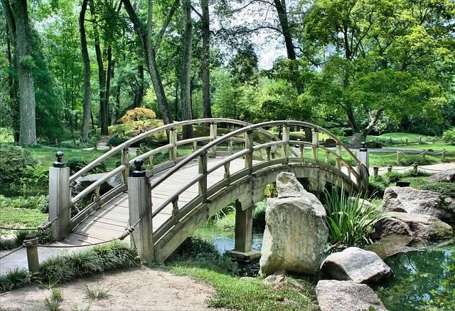 Bridge Japanese Garden Arch - Free photo on Pixabay (268910)