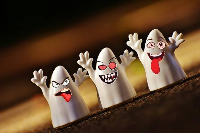 Halloween Ghosts Happy - Free image on Pixabay (270919)