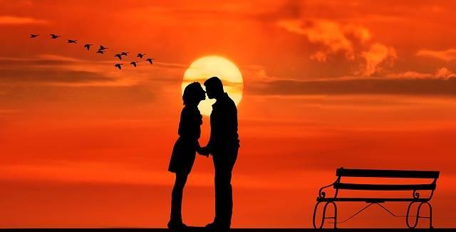 Sunset Pair Lovers - Free image on Pixabay (271427)