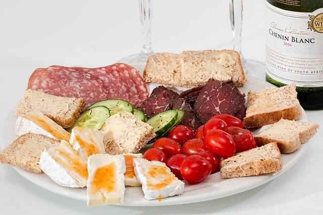 Food Platter Cheese Salami Smoked - Free photo on Pixabay (275520)