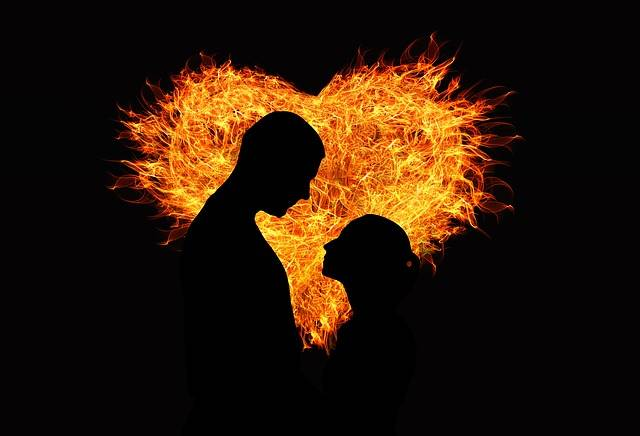 Heart Love Flame - Free image on Pixabay (276067)