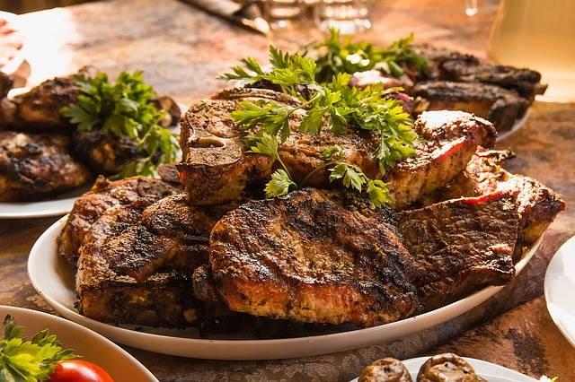 Meat Food Bbq Fried - Free photo on Pixabay (276240)