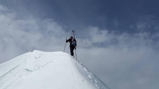 Backcountry Skiiing Summit - Free photo on Pixabay (276527)