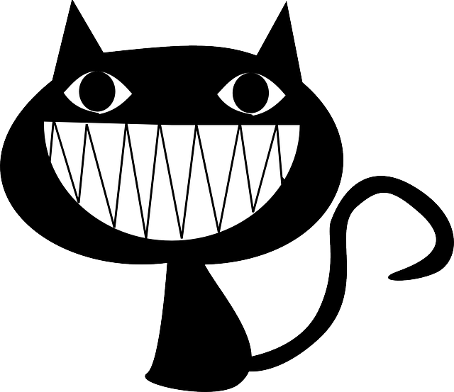 Cat Laughing Grinning - Free vector graphic on Pixabay (276642)