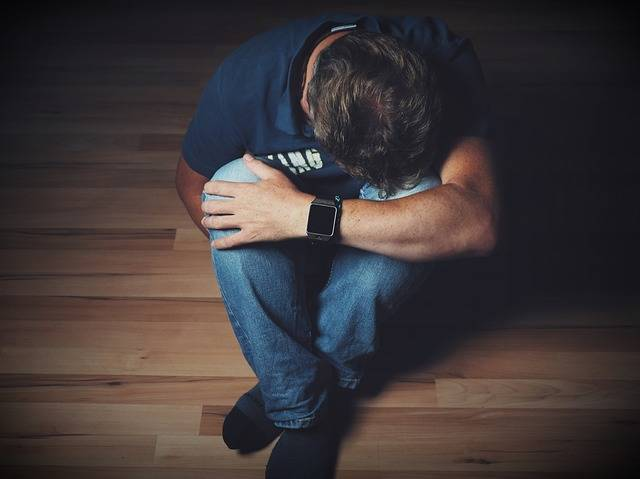 Man Mourning Despair - Free photo on Pixabay (277852)