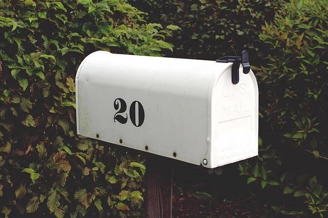 Mailbox Number Twenty - Free photo on Pixabay (278256)