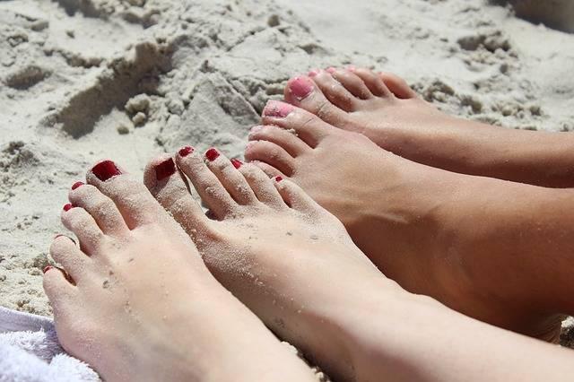 Feet Girl Nail Varnish - Free photo on Pixabay (278262)