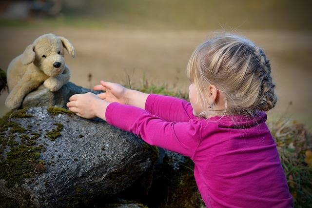 Child Girl Blond Teddy - Free photo on Pixabay (279766)
