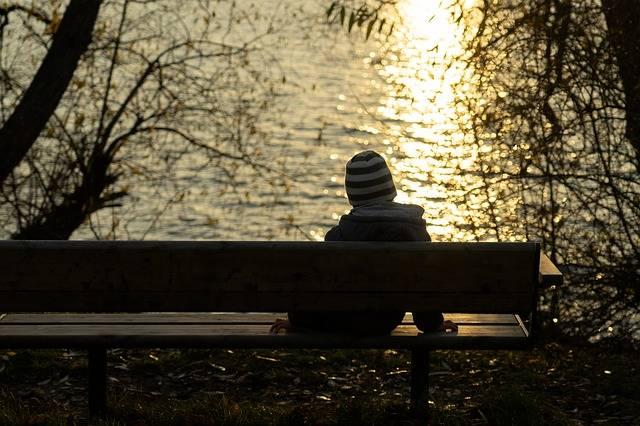 Boy Alone Sitting - Free photo on Pixabay (279775)