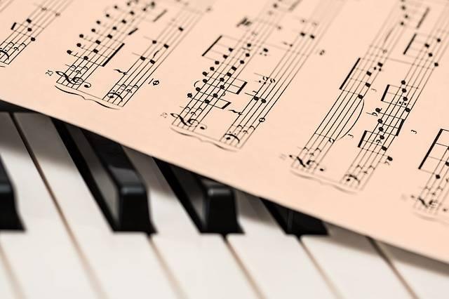 Piano Music Score Sheet - Free photo on Pixabay (280416)