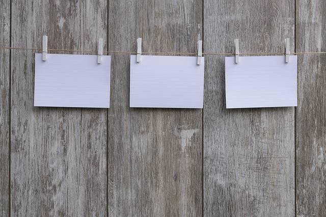 Note Stickies List - Free photo on Pixabay (284890)