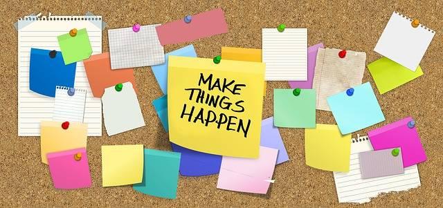 Bulletin Board Stickies Post-It - Free photo on Pixabay (284893)