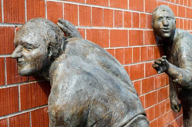 Sculpture Bronze The Listening - Free photo on Pixabay (285133)