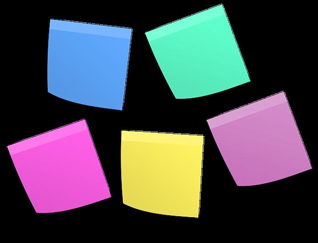 Post It Memos Notes - Free image on Pixabay (287079)