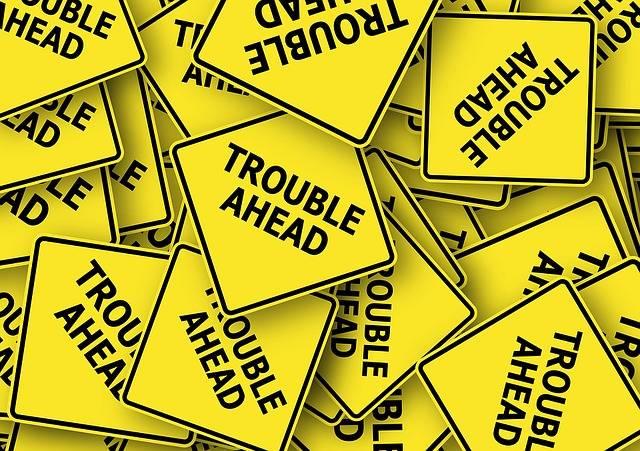 Road Sign Usa Trouble - Free image on Pixabay (294709)