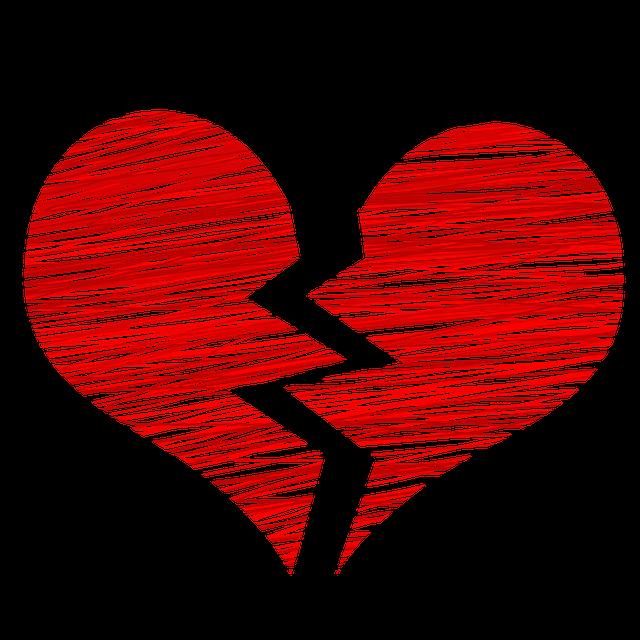 Heart Broken Separation - Free image on Pixabay (296565)
