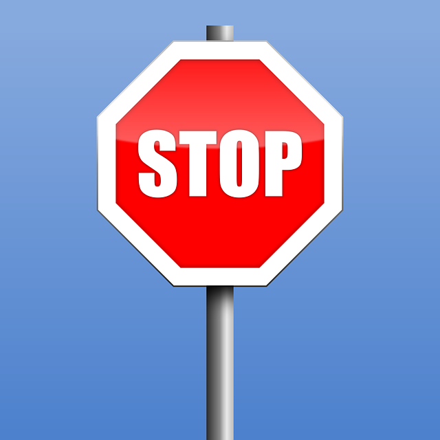 Stop Road Sign Warning - Free vector graphic on Pixabay (296745)