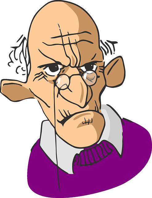 Elderly Wrinkled Man - Free vector graphic on Pixabay (296748)