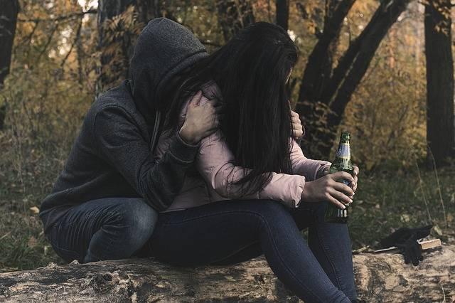 Female Alcoholism Woman Girl - Free photo on Pixabay (296990)