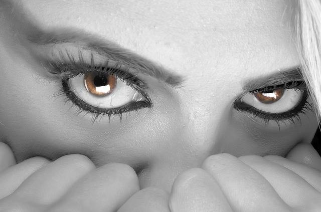 Eyes Fear Female - Free photo on Pixabay (298576)