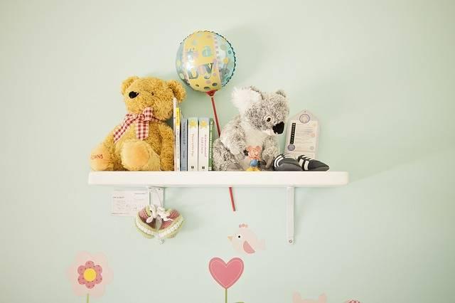 Nursery Decoration Teddy Shelf - Free photo on Pixabay (299164)