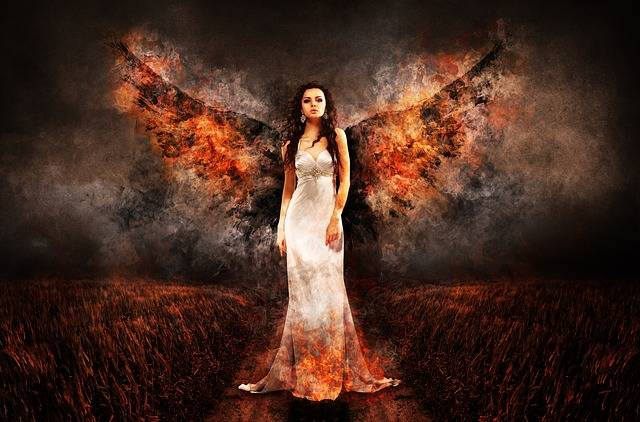 Angel The Witch Hell - Free photo on Pixabay (301659)