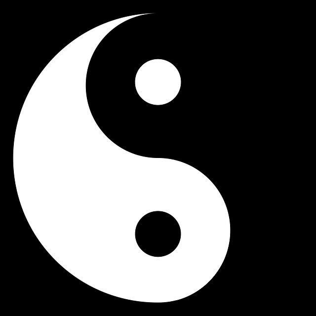 Yang Yin - Free vector graphic on Pixabay (302347)