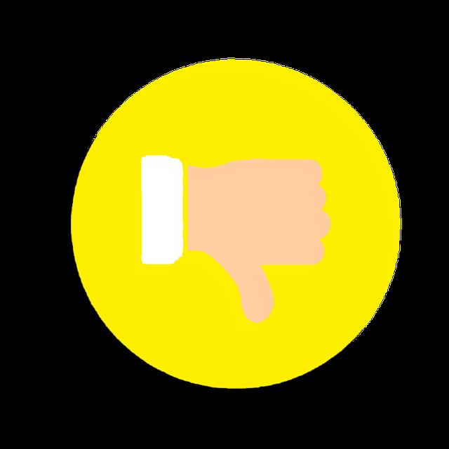 Dislike Icon Social Media - Free image on Pixabay (303039)