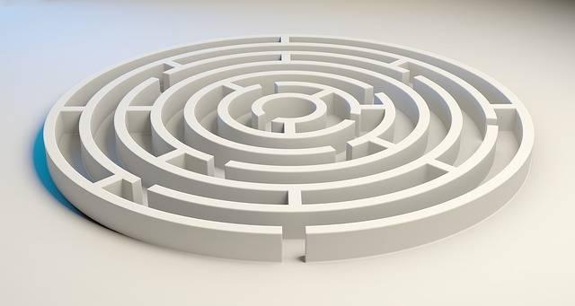 Maze Labyrinth Solution - Free image on Pixabay (303824)