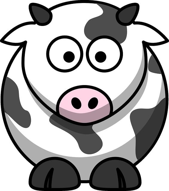 Cow Milk Farming - Free vector graphic on Pixabay (305670)