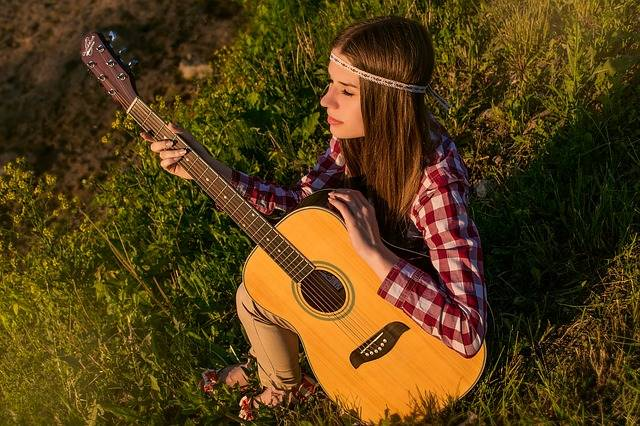 Girl Guitar Summer - Free photo on Pixabay (306472)