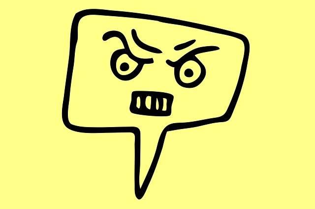 Rage Angry No - Free image on Pixabay (306483)
