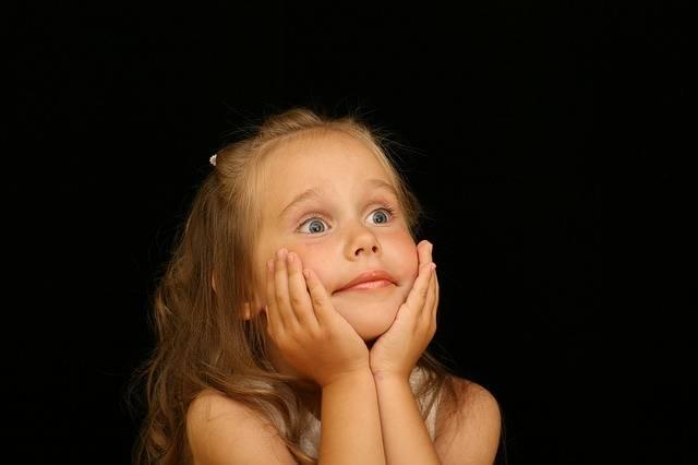 Girl Child Astonished - Free photo on Pixabay (306586)