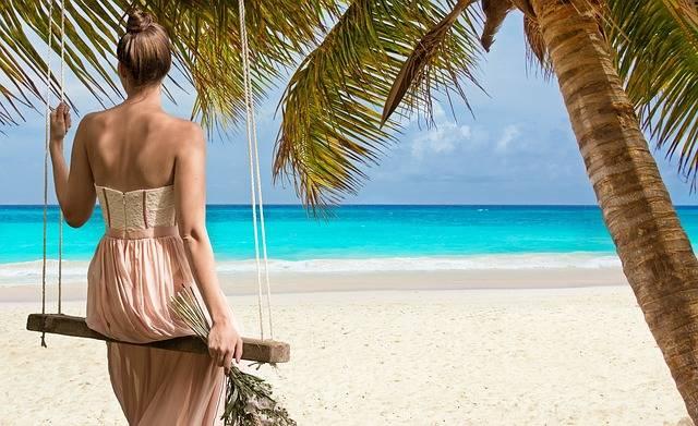 Beach Woman Sea Swing - Free photo on Pixabay (307159)