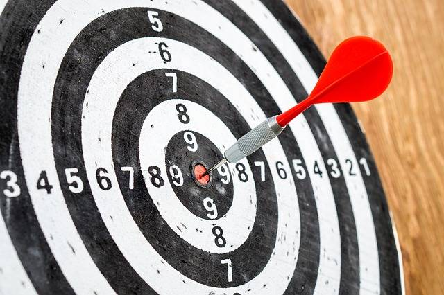Target Goal Success Dart - Free photo on Pixabay (308319)