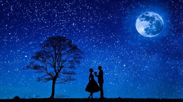 Lovers Moon Love - Free photo on Pixabay (311273)