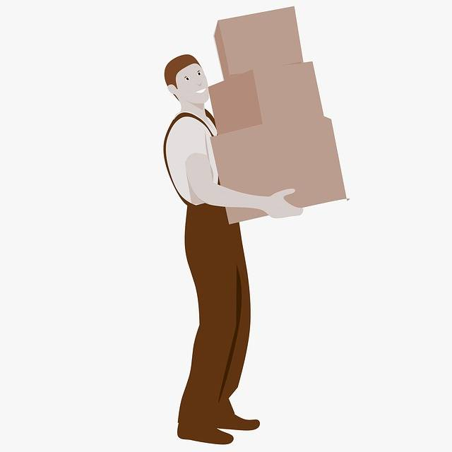 Moving Boxes Movers - Free image on Pixabay (311540)
