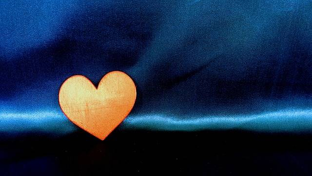 Orange Heart Love - Free photo on Pixabay (311572)