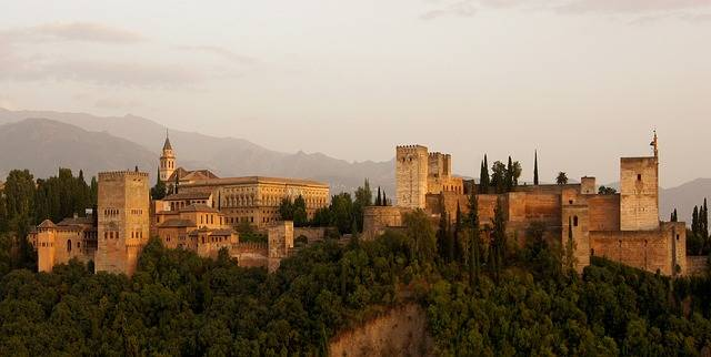 Alhambra Castle Building - Free photo on Pixabay (313000)