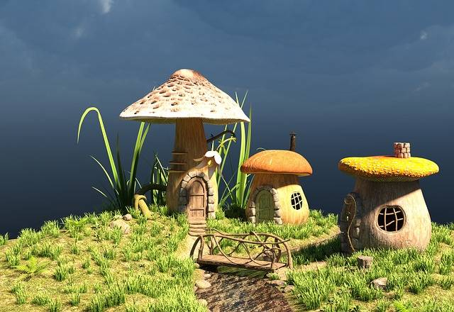 House Cottage Cute Fairy - Free image on Pixabay (313746)