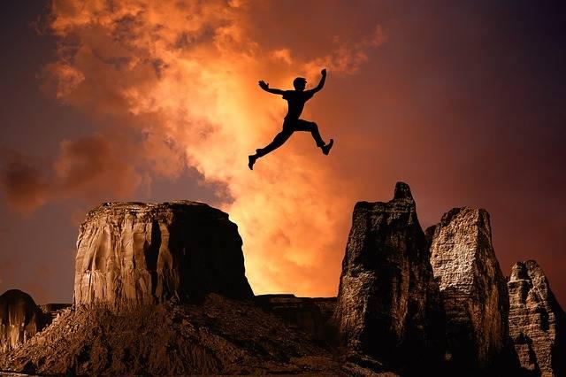 Mountain Jump High - Free photo on Pixabay (314170)