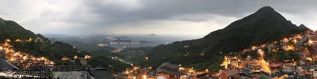 Taiwan Night Light Landscape - Free photo on Pixabay (315030)
