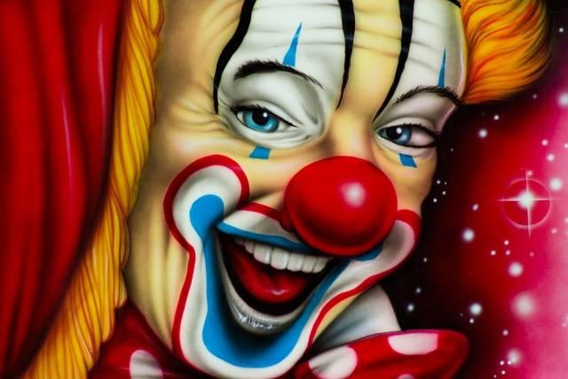 Clown Circus Painting - Free photo on Pixabay (316021)