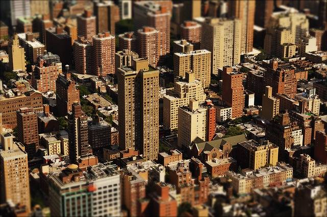 Skyscraper Houses City - Free photo on Pixabay (316342)