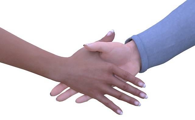 Hand Hands Shaking Man - Free image on Pixabay (316378)