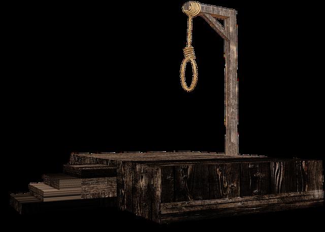 Gallows Hang Penalty Capital - Free photo on Pixabay (317518)