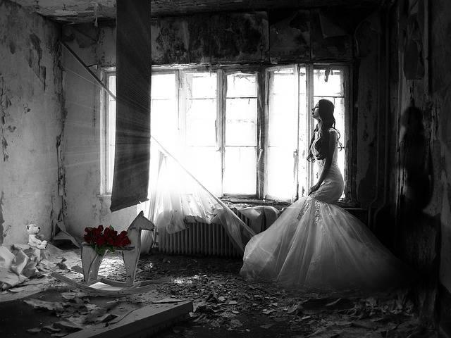 Woman Sad Wedding - Free photo on Pixabay (317925)