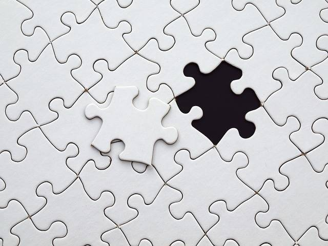 Puzzle Match Missing - Free photo on Pixabay (318113)