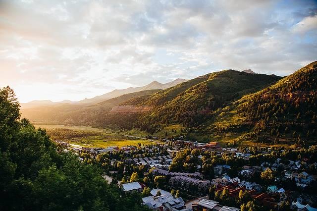 Village Hills Bright Sky - Free photo on Pixabay (318282)