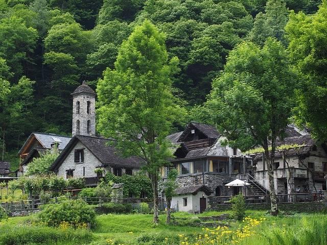 Foroglio Village Stone Houses - Free photo on Pixabay (318294)